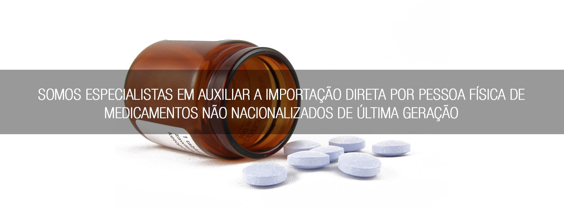 Importação de medicamentos